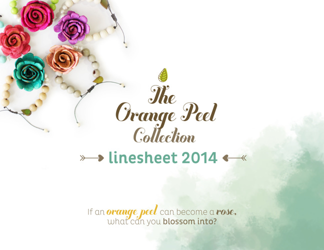 Linesheet Orange Peel 2014