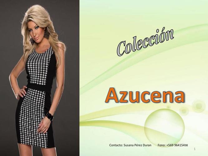 Moda SPD: Coleccion Azucena