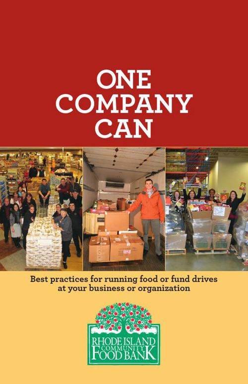 RI Community Food Bank One Company Can