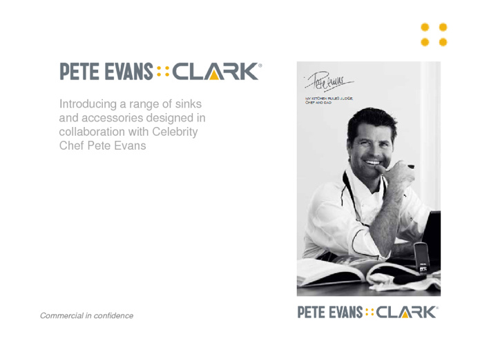 Pete Evans Range from Clark Epure