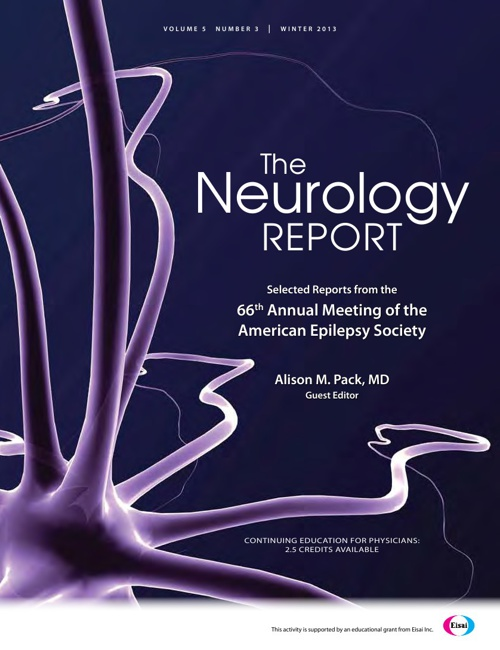 The Neurology Report, Winter 2013 Edition