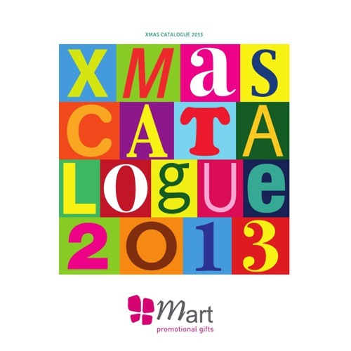 Xmas mart promotional gifts