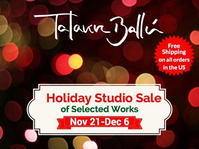 Talavera-Ballon Studio Holiday Sale 2014
