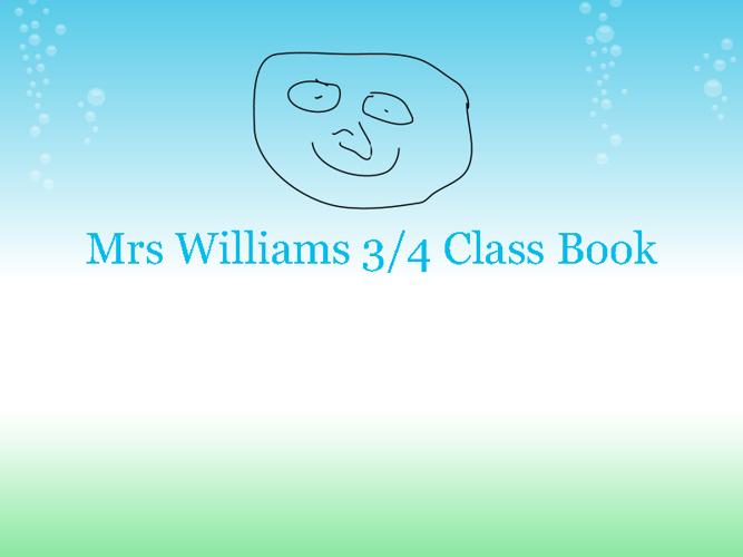3'4 Class Book