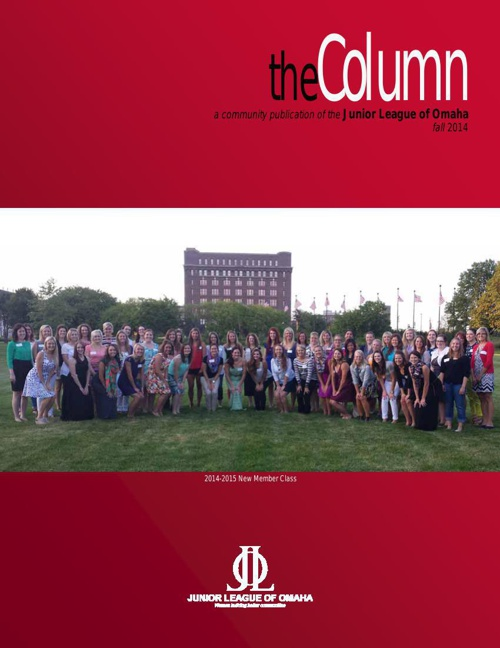 the Column - 2014 Fall Edition - A magazine by the Junior League