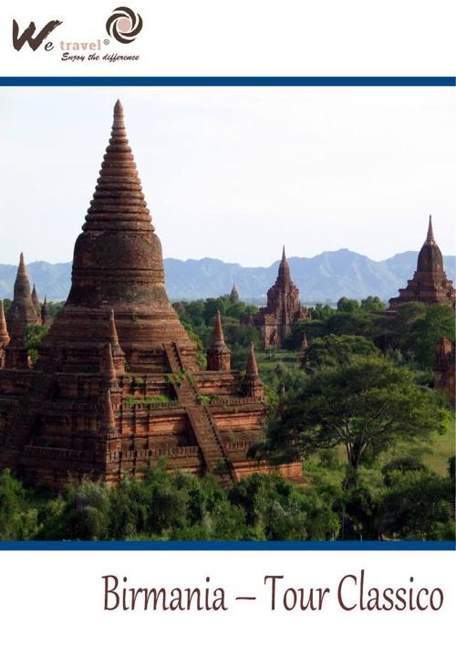 Birmania Tour Classico + 1 Notte Lago Inle
