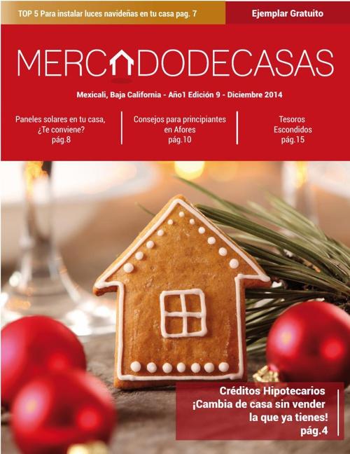 Revista Mercado de Casas, Edición 9 - Diciembre 2014