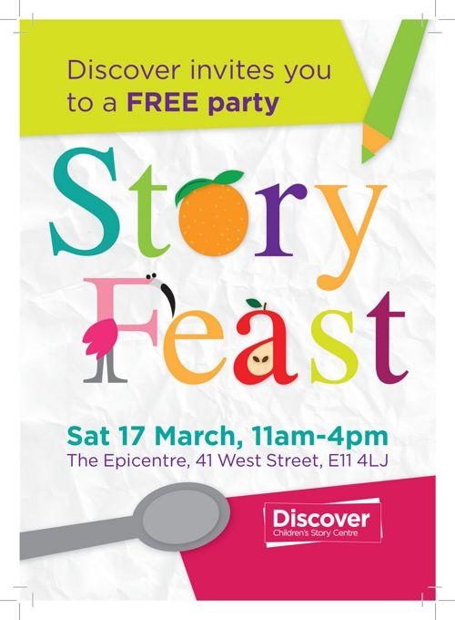 Story Feast 2018 Flyer