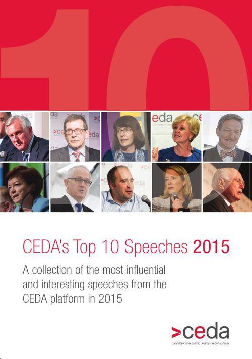 CEDA Top 10 Speeches 2015