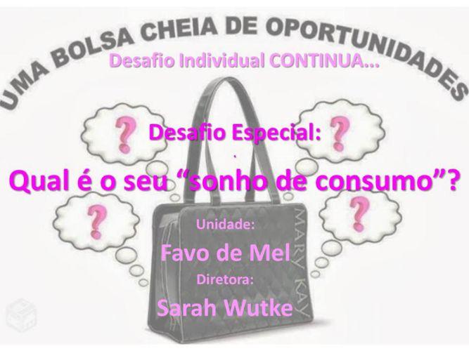 Desafio de Fevereiro - Unidade Favo de Mel