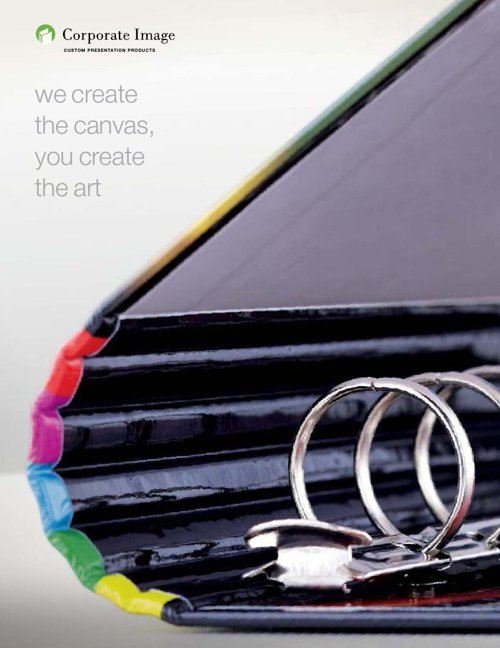 Corporate Image: The Best in 3-Ring Binders, Pocket Folders, Tab