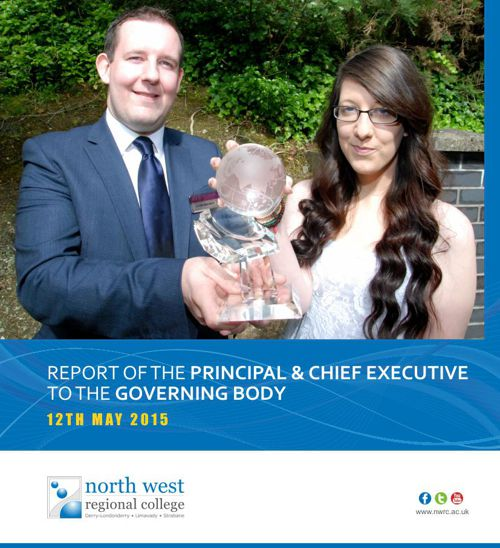 NWRC Report to the Principal & Chief Excutive to the Governing B