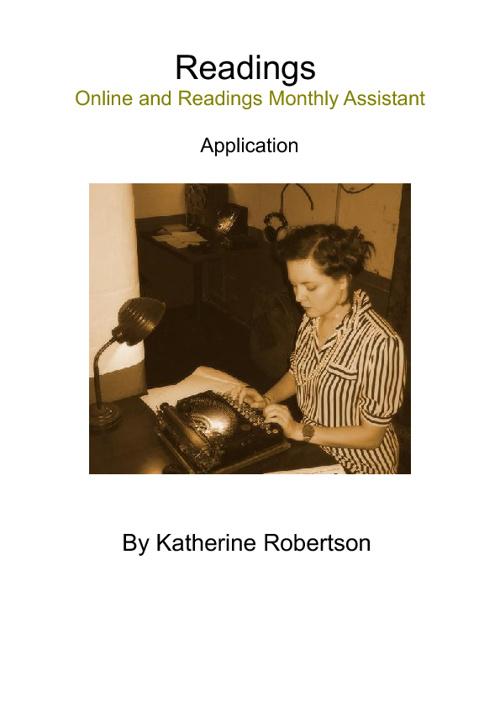 Application - Katherine Robertson