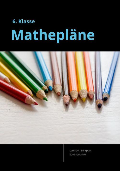 Mathepläne 6. Klasse