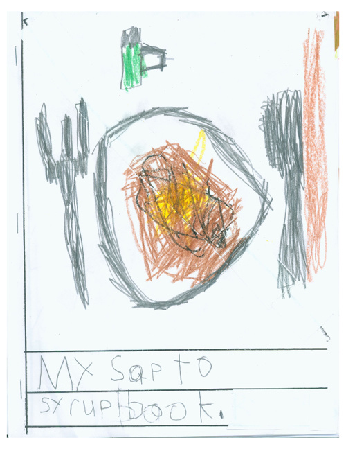 My Sap to Syrup Book by Room 1