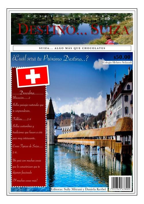 Destino...Suiza