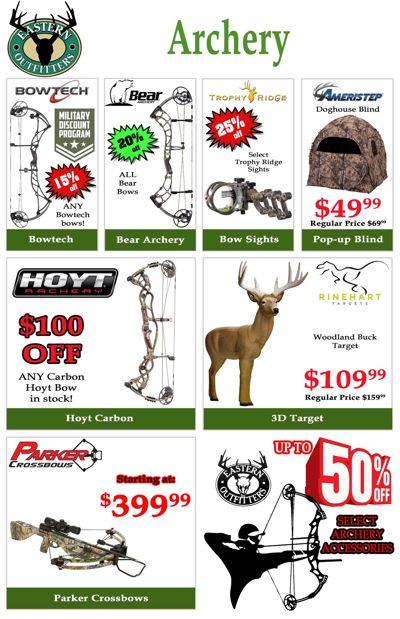 Pre-Season Hunting Sale