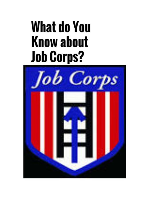 Job Corps Information