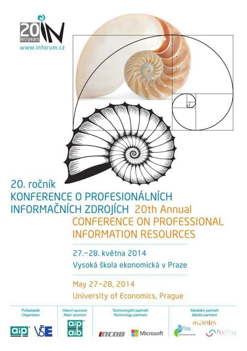 INFORUM 2014 program konference/ conference programme