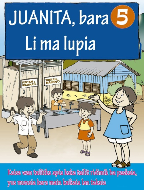 Juanita y la gotita no. 5 miskitu