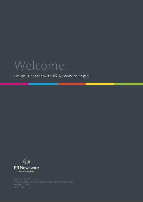 PR Newswire Induction Pack