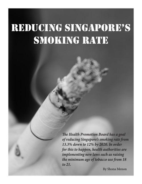 Reducing Singapore's Smoking Rate (Shona)