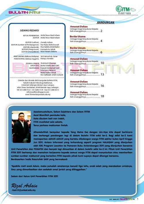 BULETIN FKSTM 2011-2