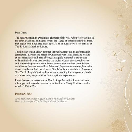 STR Festive Brochure 2014-2015