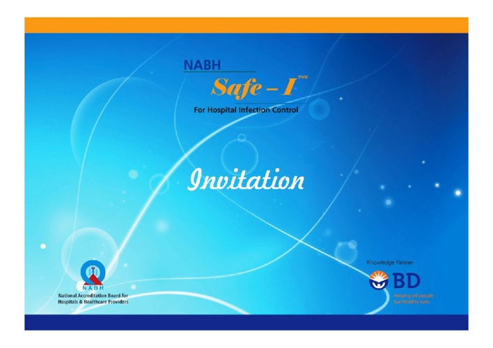 NABHSafe-I Invitation