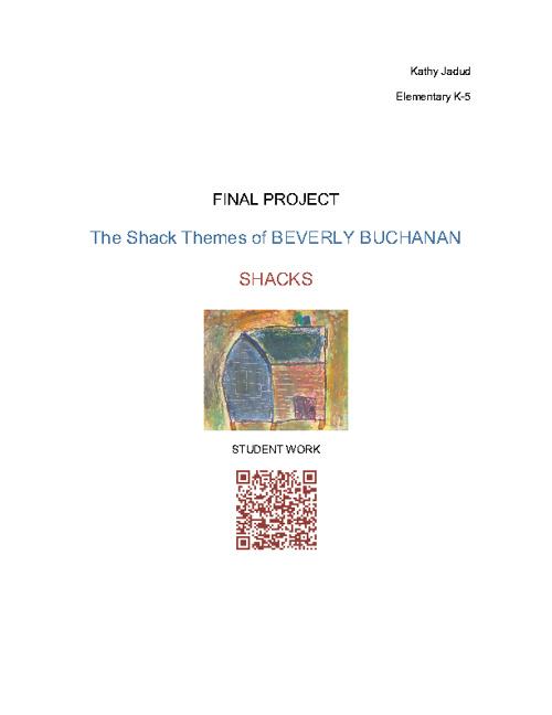Final Project: Beverly Buchanan