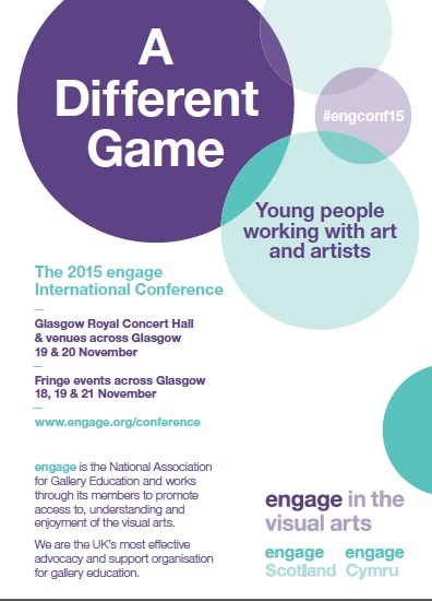 2015 engage International Conference leaflet