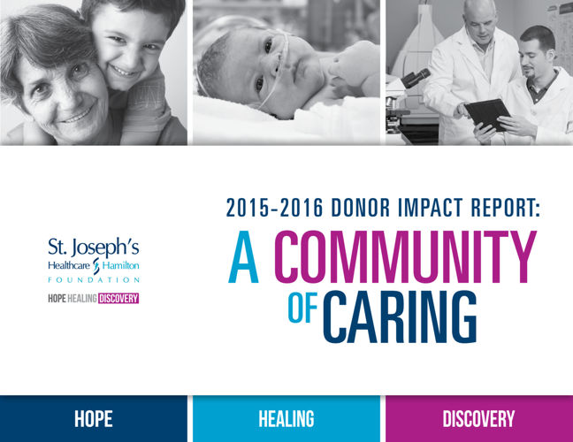 2015-2016 Donor Impact Report