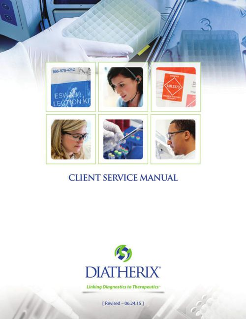Client Service Manual