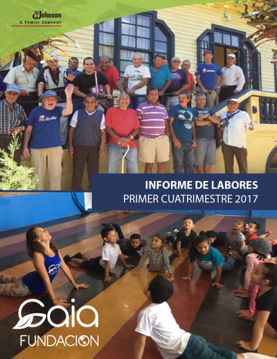 Informe de labores, primer cuatrimestre 2017