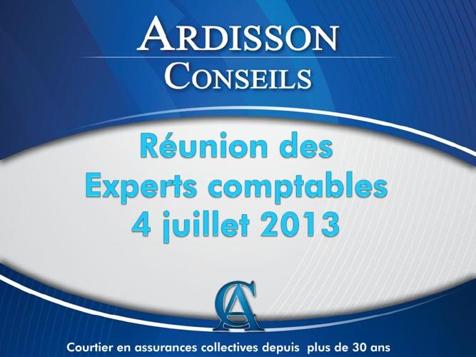 Réunion d'information 4 juillet 2013
