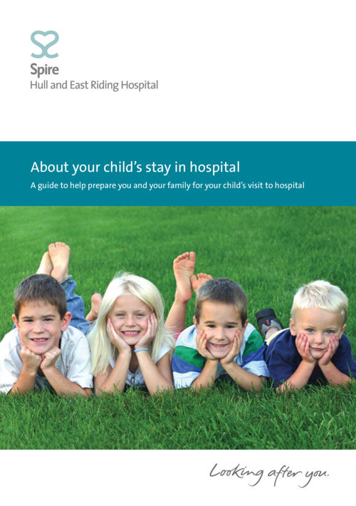 Spire Hull - About your child's stay in hospital