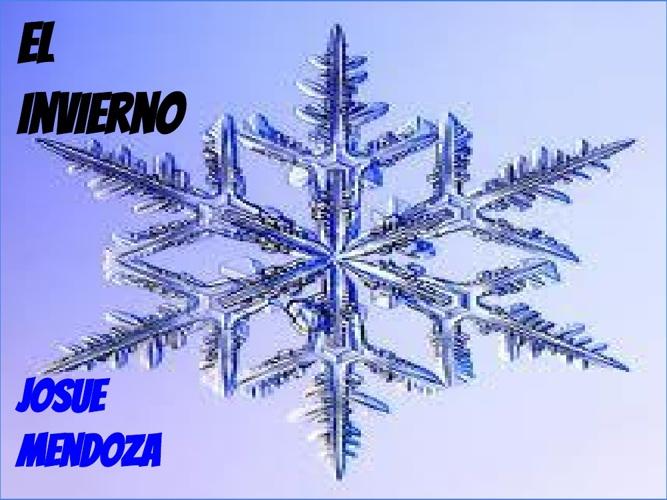 El invierno -Josue Mendoza