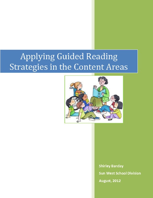 Applying Guided Reading Strategies in the Content Areas