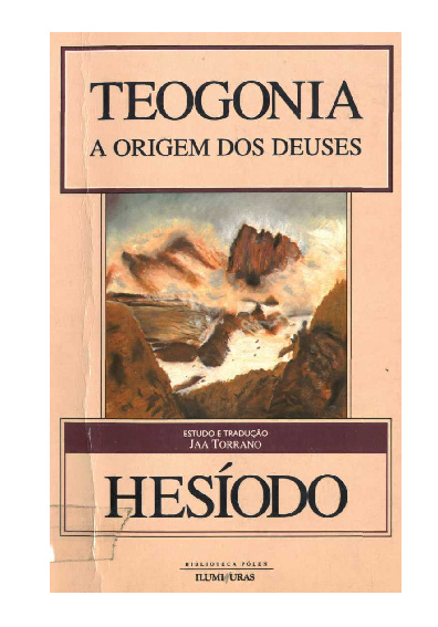 Teogonia - Hesíodo