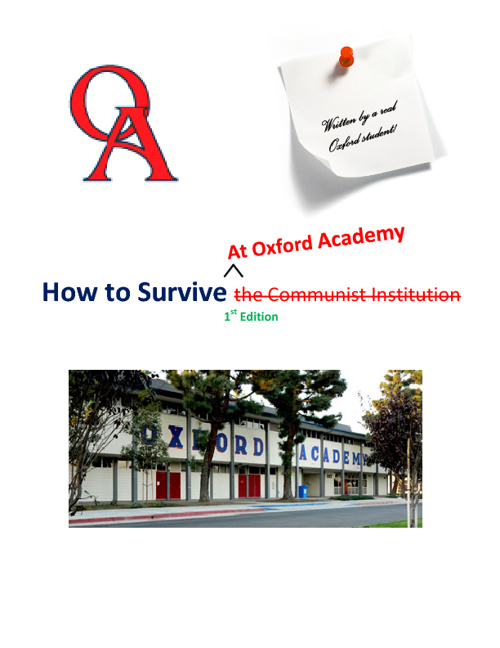 How to Survive at Oxford Academy