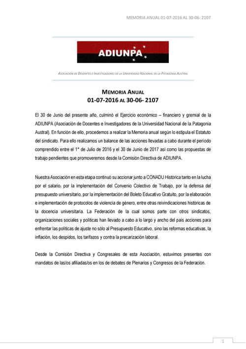 MEMORIA2016-2017 ADIUNPA