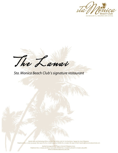 Sta. Monica Beach Club Wedding Buffet