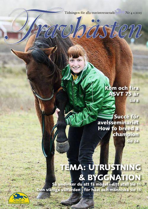 2015 Tidningen Travhästen nr 4