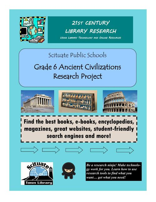 Scituate Town Library Ancient Civilization Research Guide