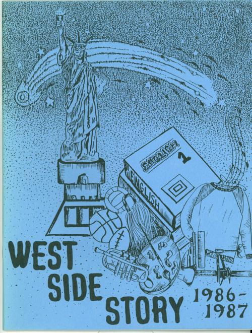 WEST JR HIGH 1986-87