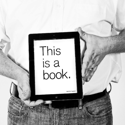 This is a book. This is not a book.