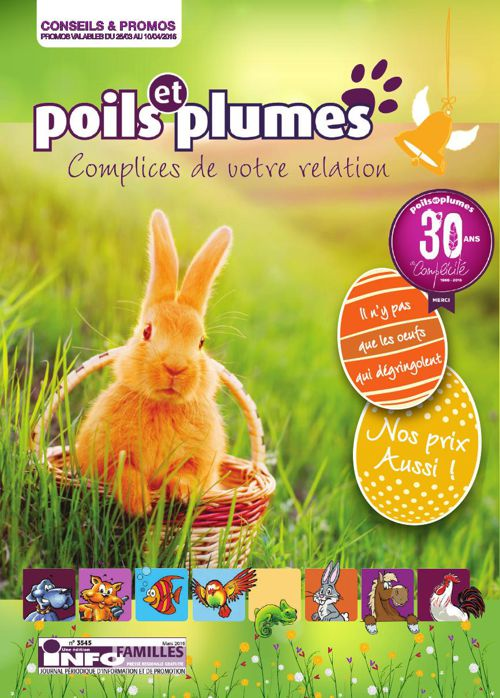 Poils & Plumes - Paques 2016