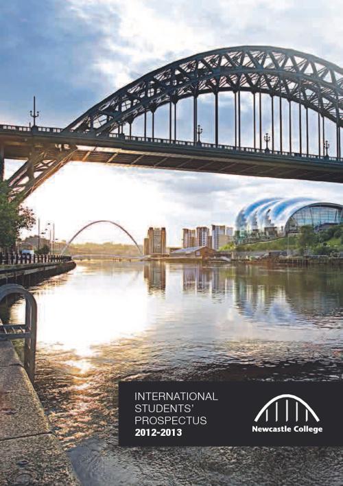 Newcastle College International Prospectus 2012-13
