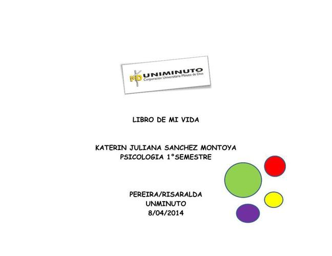 LIBRO DE MI VIDA!!!