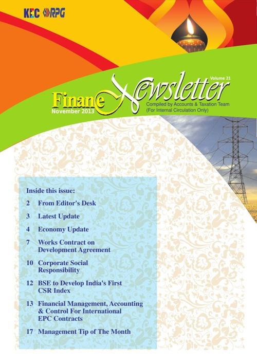 KEC Finance News Letter